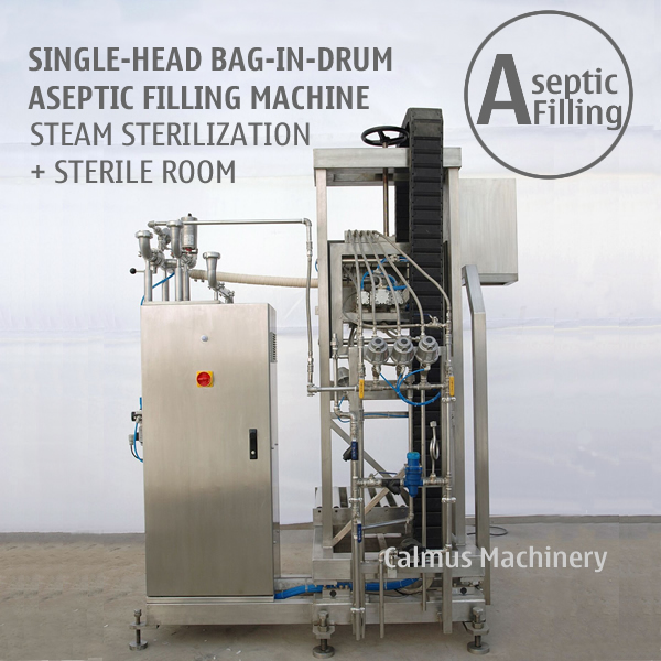 Buy Single-head 220 Litre Fruit Puree Paste Bag in Drum Aseptic Filler