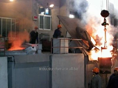 Buy 1.5T medium frequency induction melting furnace