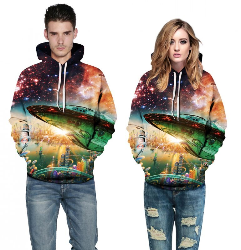 Buy [Copy] [Copy] Man and women hoody unisex hoody nice printing animal, galaxy, Christmas