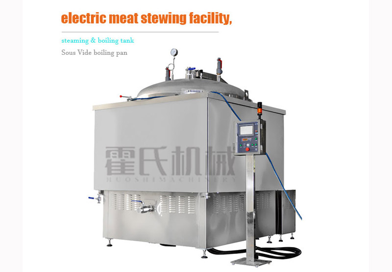 Buy Electric Meat Stewing Facility, Steaming & Boiling Tank,Sous Vide Boiling Pan