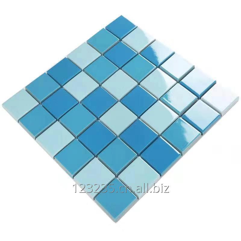 Buy Cheap ceramic mosaic, swimming pool glass mosaic, Chinese mosaic factory