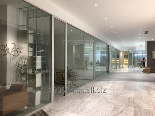Buy Safety commercial Shopping mall Glass Partition
