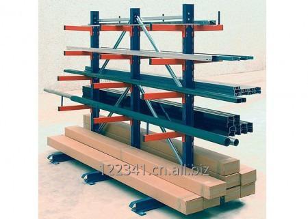 Buy Warehouse Steel Cantilever Stacking Racks for Irregular Goods Storage for Sale