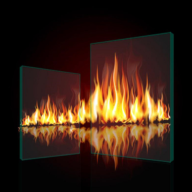 Buy Ultra large Fireproof Glass