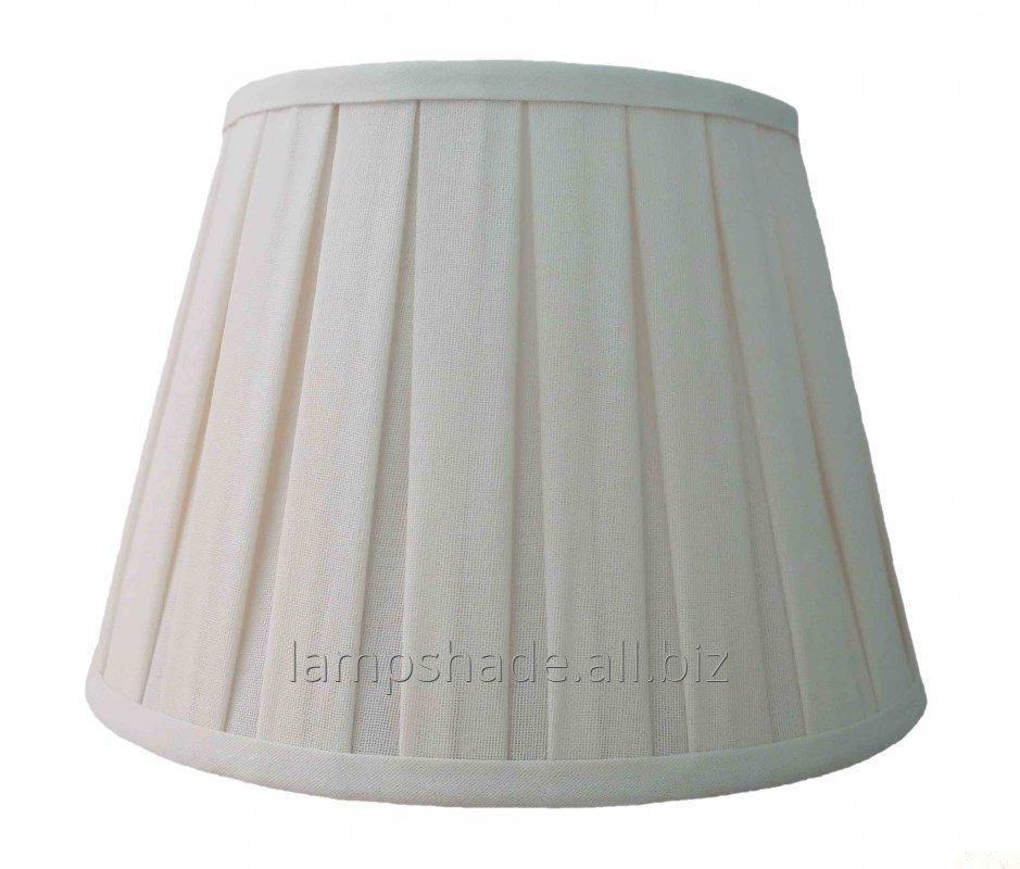 Buy Box Pleat Beige Linen Lamp Shade