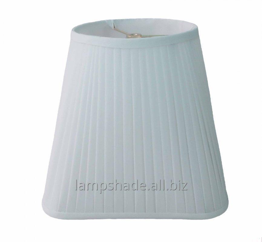 Buy Side Pleat Linen Lamp Shade