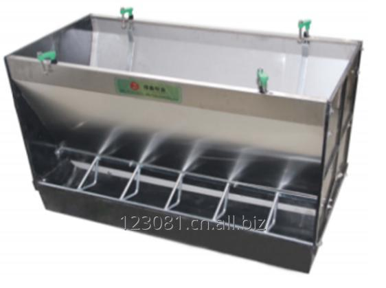 Buy Troughs stainless steel double-sided for postweaning
