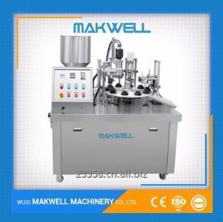 Buy Semi-automatic plastic tube filling sealing machine