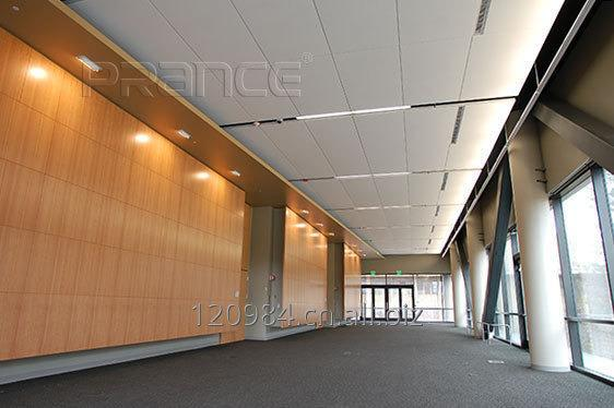 Buy Office building project lobby artistic metal ceilings tiles