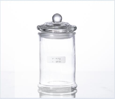 Buy 350ML airtight glass storage cansiter for kitchen