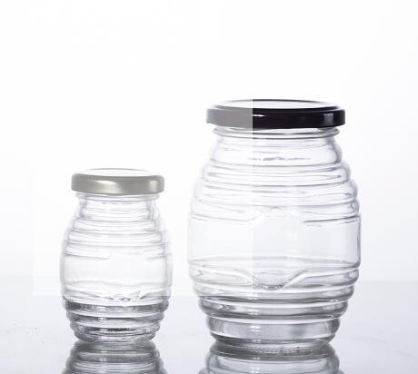 Buy 100ML and 500ML food grade glass honey jar