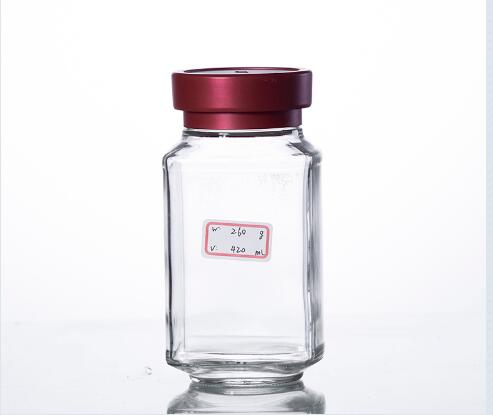 Buy 400ml custom made instant coffee jar