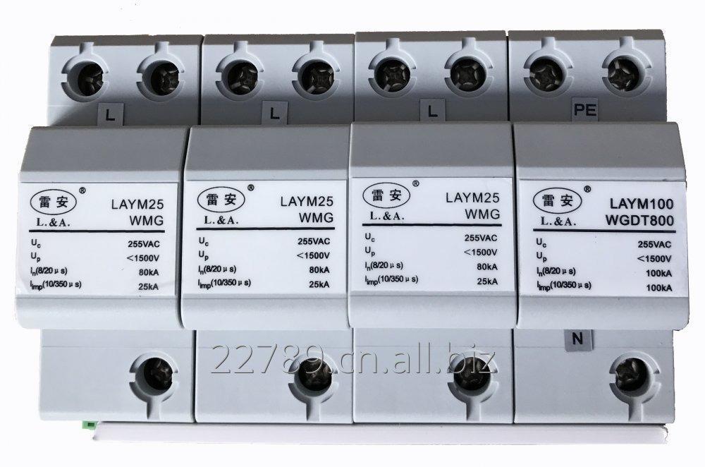 Buy Type 1 Class B + C 50KA three phase AC surge protection device