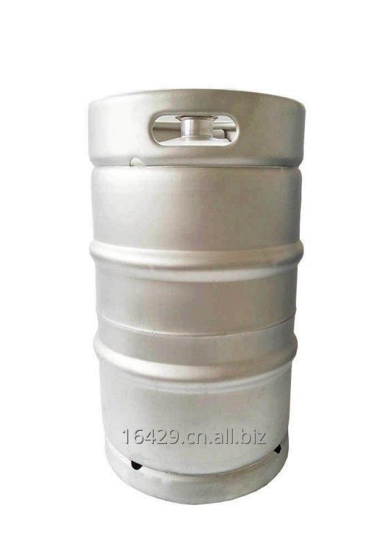Buy 3 bar SS304 50L stainless steel keg DIN standard with A type spear