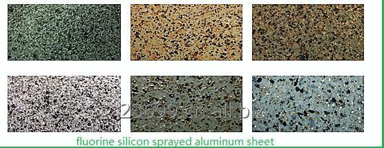 Buy Fluorine silicon sprayed aluminum sheet
