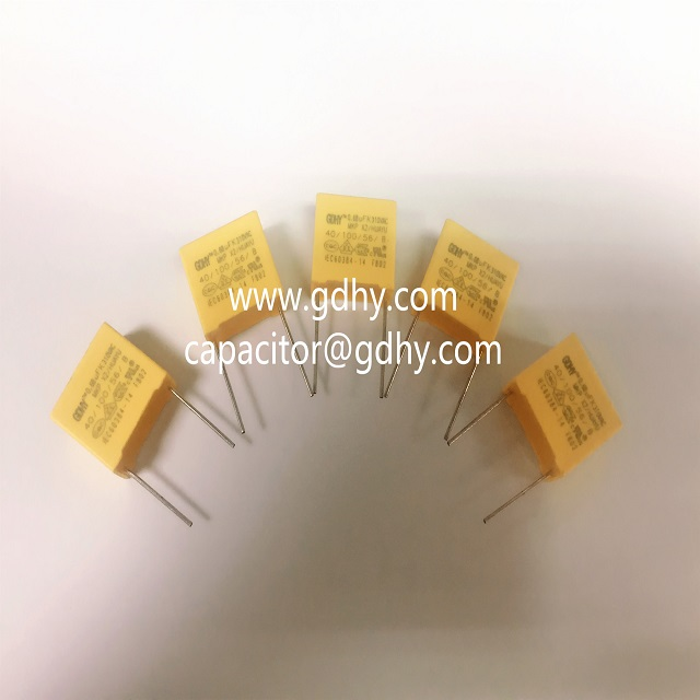 Metallized polypropylene film capacitors power electromagnetic interference suppression film capacitors MKP-X2 safety capacitor