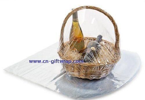 Buy PVC Shrink wrap basket bag of round bottom