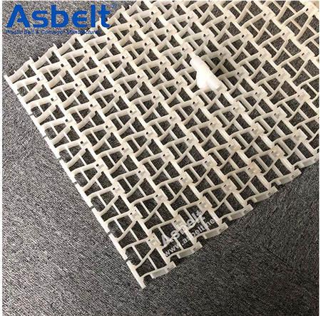 Buy Ast9100,Side Flexing Conveyor Belt ,Plastic Flat Top Belt,Plastic Flat Top Belt Rubber Top