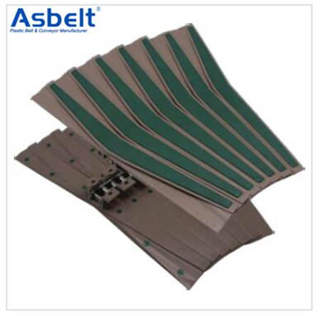 Buy Ast1873TW Side Flexing Spiral Belt,Beverage Flat Top ,Flush Grid Modular Belt