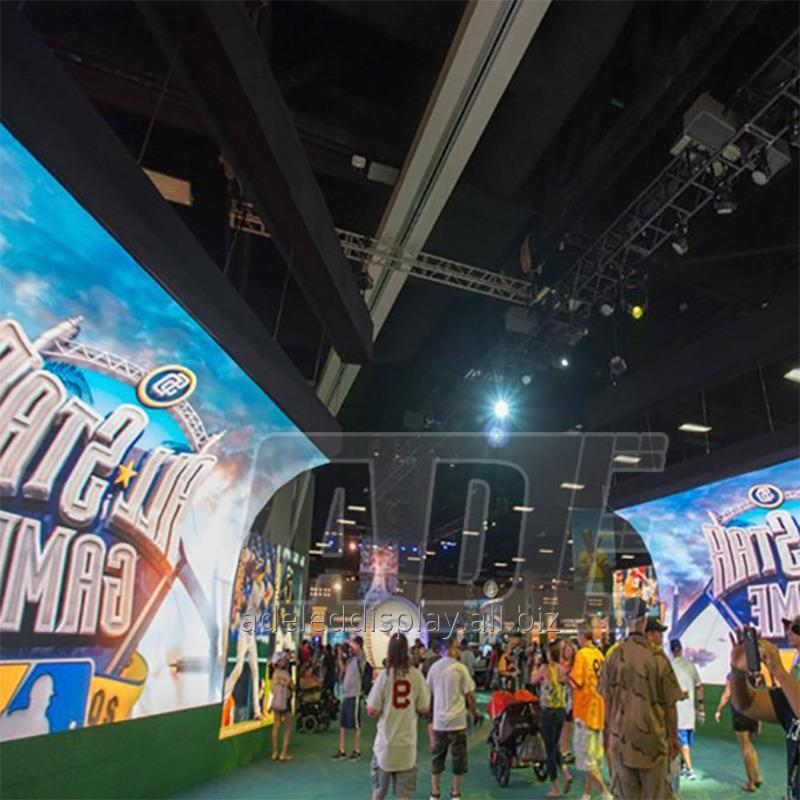 Buy CE ROHS trade show moving outdoor Flexible LED Display