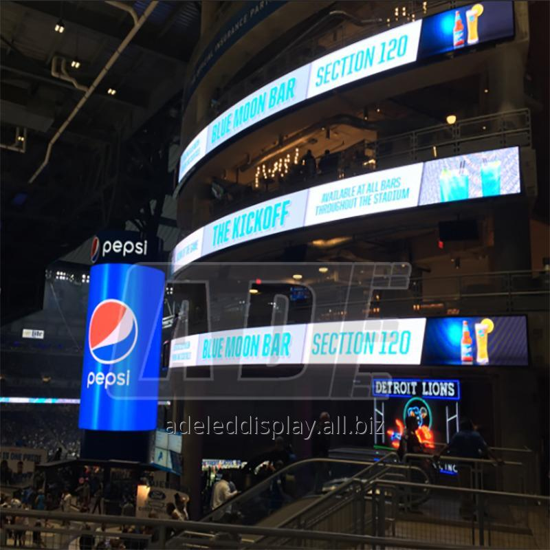 Buy High quality stage event moving outdoor Soft LED Display