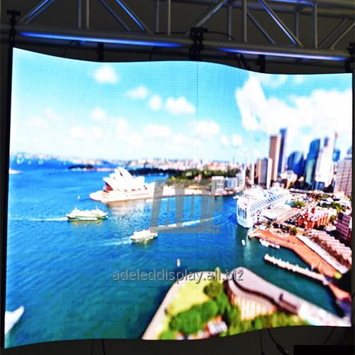 Buy China stage event circular indoor Flexible LED screen