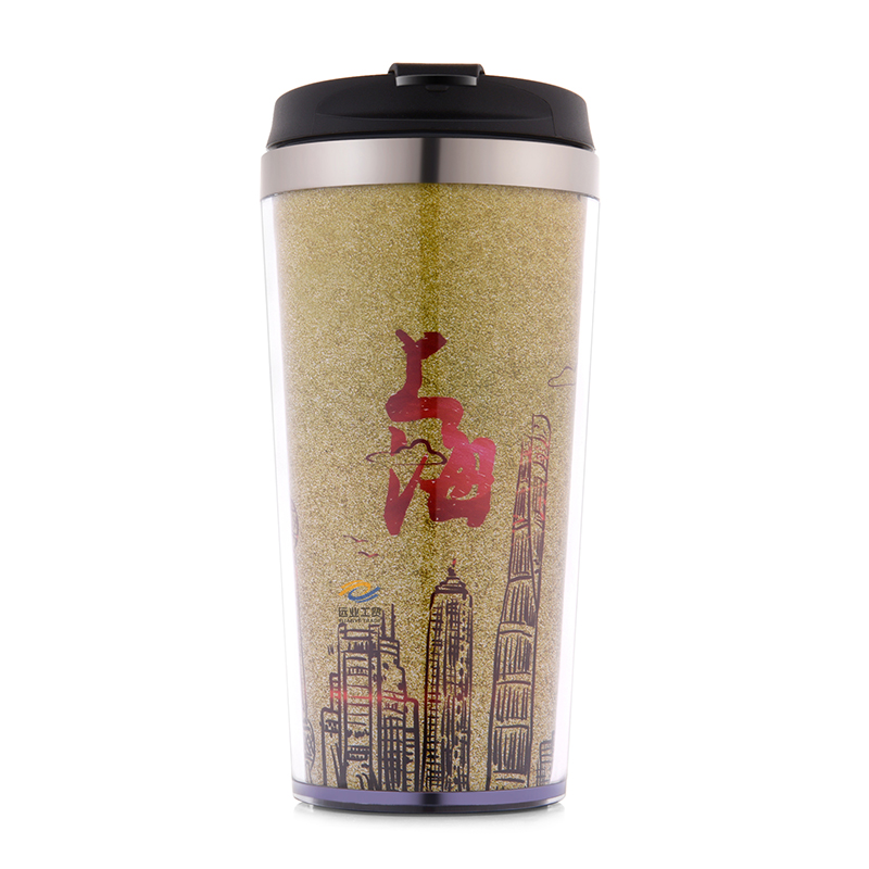 f4aa2c4b90a 420ml BPA Free Food Grade Doubell Wall portable vacuum insulated stainless  steel 304 travel coffee mug water cup custom logo