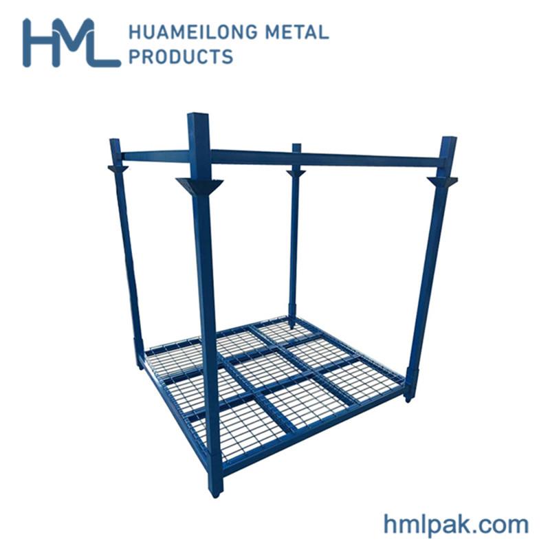 Купить HML-7272 WM Сверхмощный сложенном виде металлических шин стеллаж для хранения