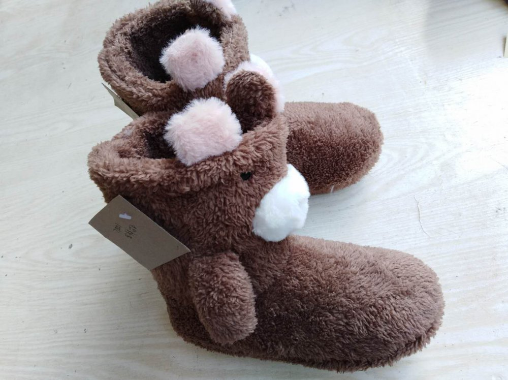 159b66303052 New Style Winter Indoor Shoes  Animal Style and Plush Slipper Women s Style Home  Shoes