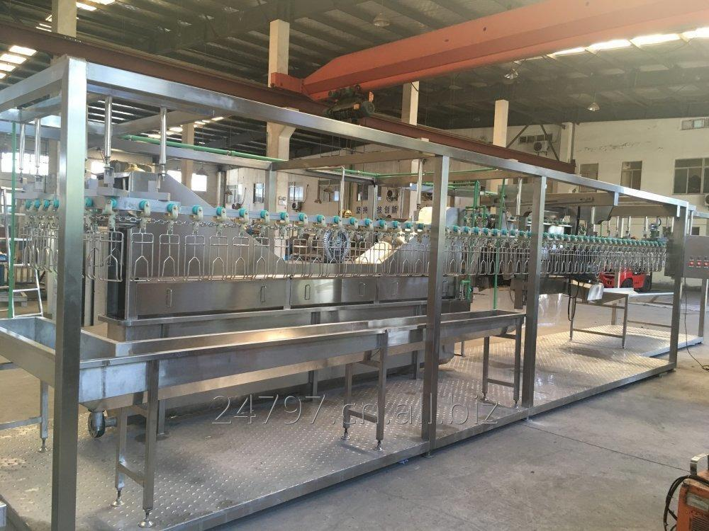 Buy Compact poultry processing line