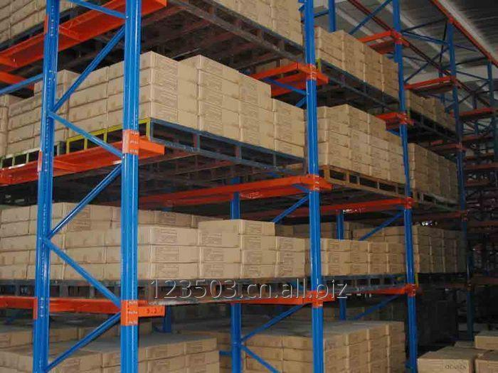 INDUSTRIAL WAREHOUSE STORAGE DRIVE IN RACKING