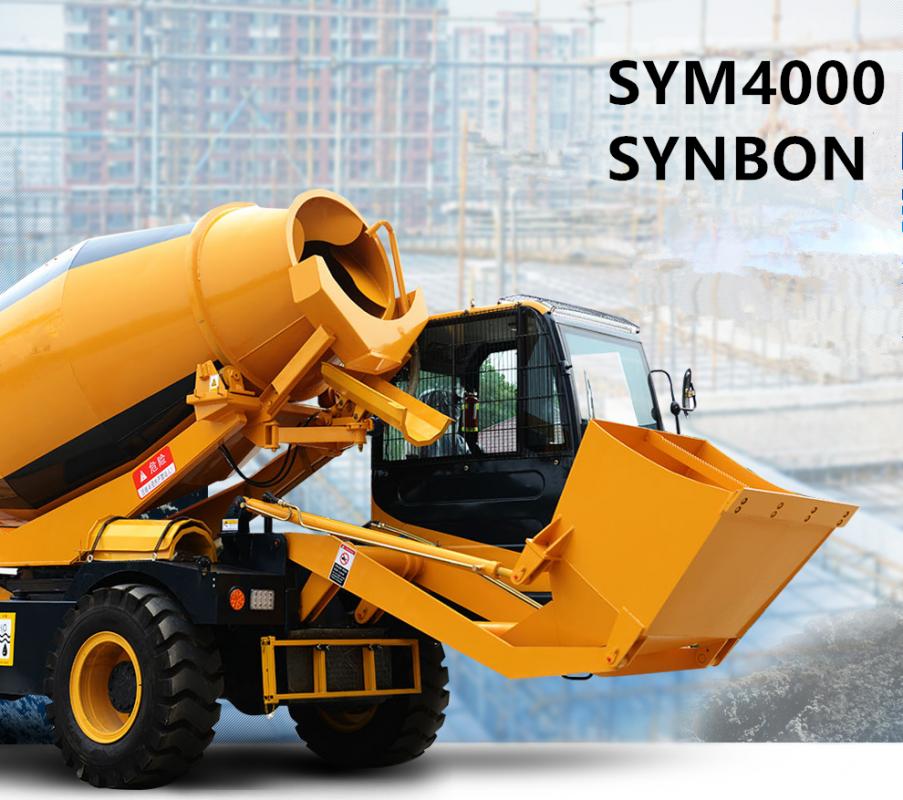Купить Self погрузки бетонный смеситель SYM4000
