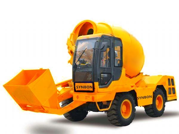 Comprar Sobrecargo-mezclador concreto SYM3500