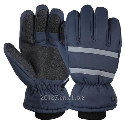En liquidación nuevo diseño mejor selección de 2019 Acrílico invierno punto seguridad guantes de trabajo/trabajador-02