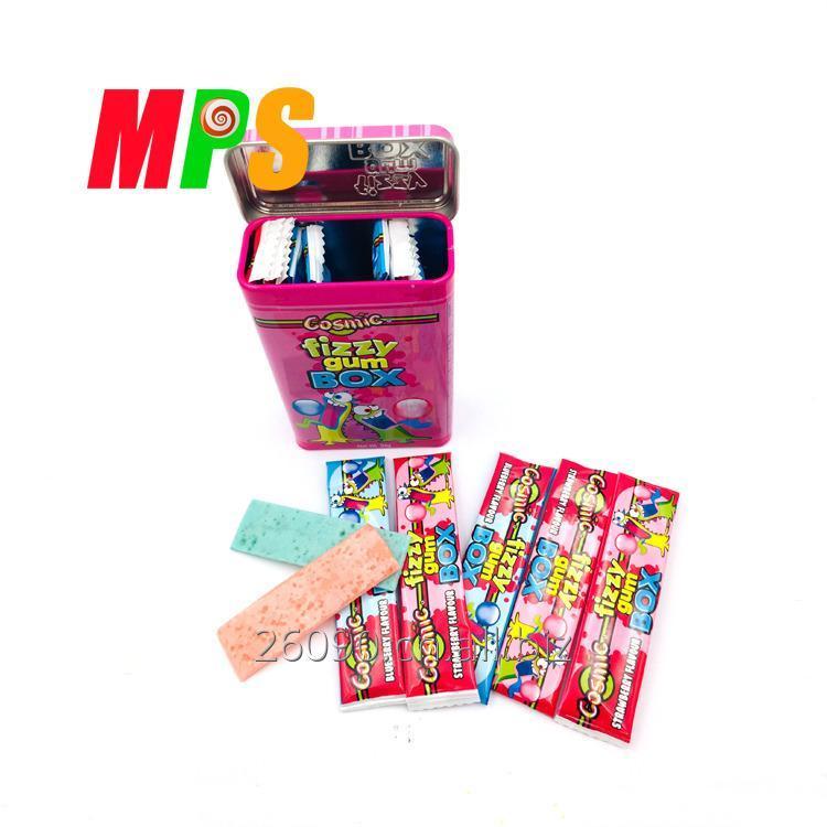Купить Полоса формы мульти цвет, жевательная резинка, Упакованные в милой коробке