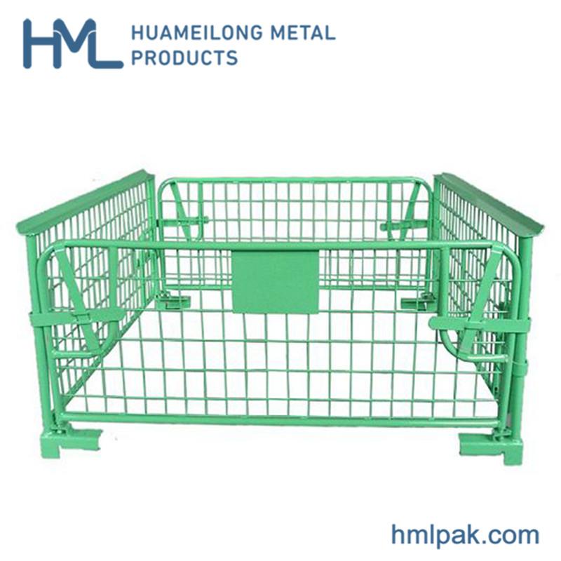 خرید کن NF-1 بالا کیفیت انبار صتكبل قفس فلزی پالت چوبی