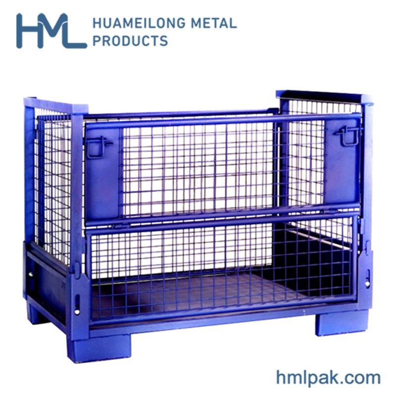 Comprar T-7 contenedor de plataforma de acero para autopartes industria auto