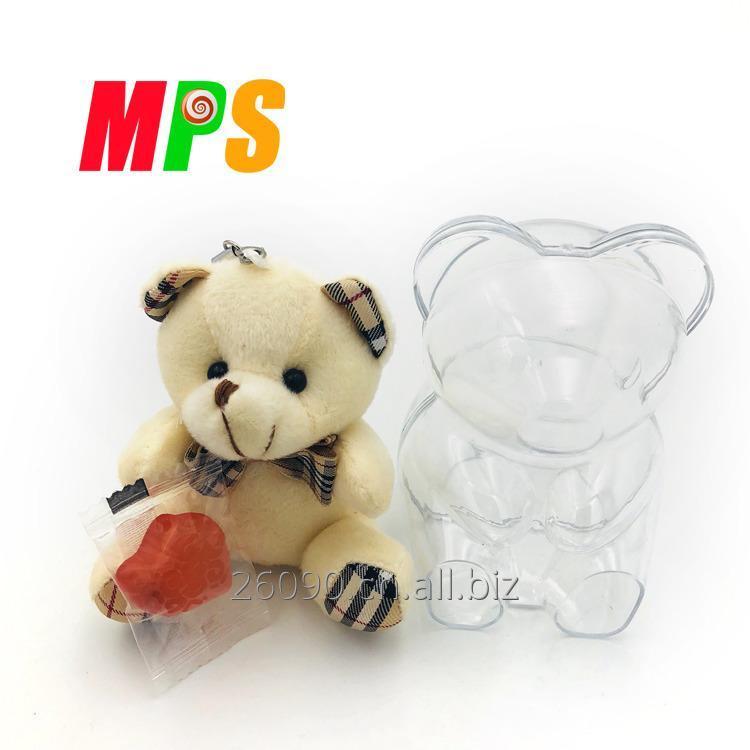 购买 10克压缩糖果在塑料熊容器