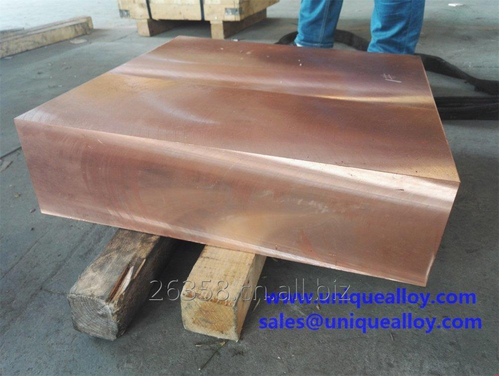 Buy CuCo1Ni1Be CW103C Beryllium Copper Plate