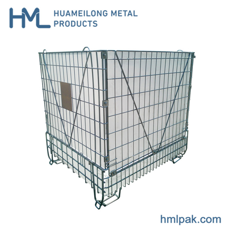 Купить F28 Оцинкованная стальная сетка для хранения продукции контейнер для ПЭТ преформ
