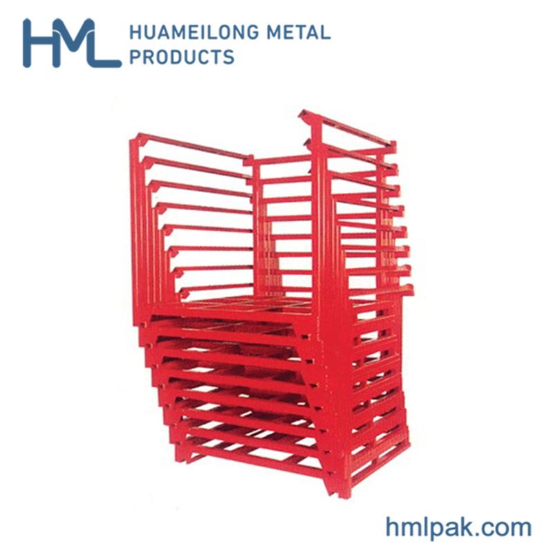 خرید کن Nestainer صنعتی فلزی ذخیره پالت های انباشته رک