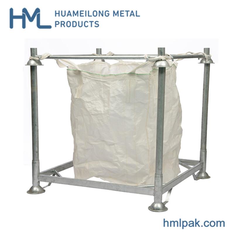 Купить M-6 Биг-бэг держатель металл склад хранения металла штабелировать стеллажи для больших мешка ПЭТ-преформ