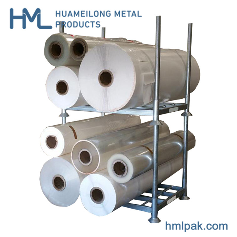 Buy Transport removable warehouse rigid steel powder coating post pallet rack