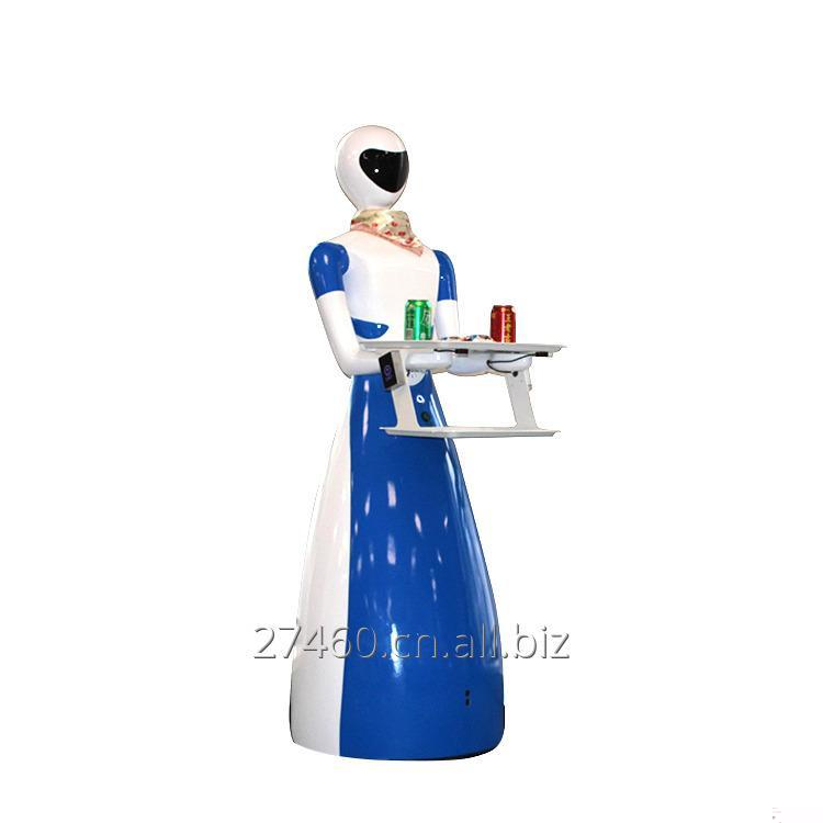 Buy Meal delivery humanoid service waiter robot for kitchen