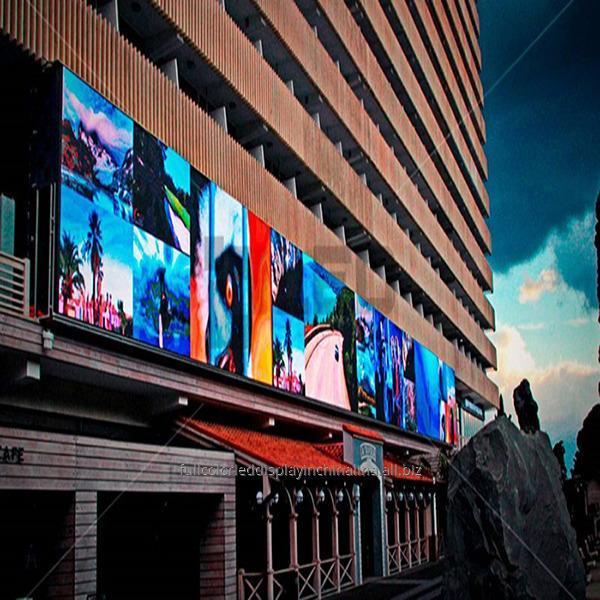 Купить IP65 RGB светодиодные щиты P4 открытый 5000 cd/m² яркости высокого разрешения для рекламы