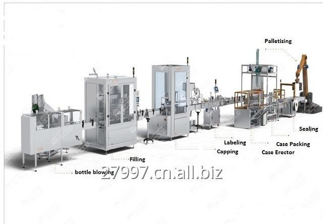 Oil Filling Line; Edible Oil Filling Machine; Packaging Line