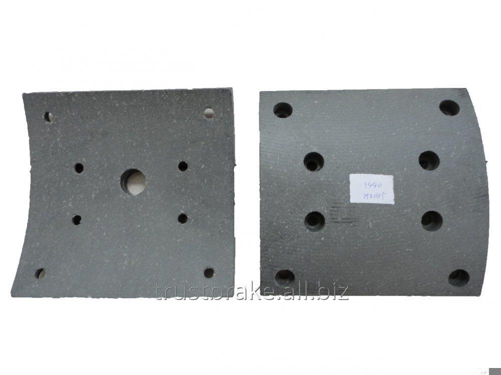 Buy Brake Pad Truck part For Maz brake lining 5440-3501105