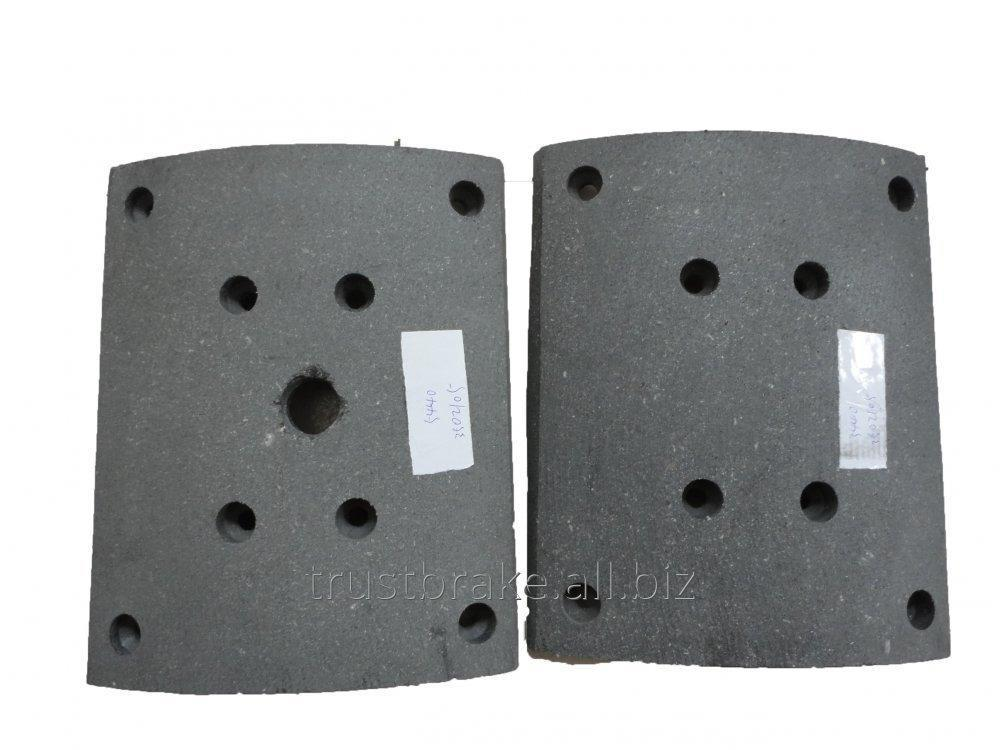 Buy Truck Accessories part For Maz brake lining 5440-3502105