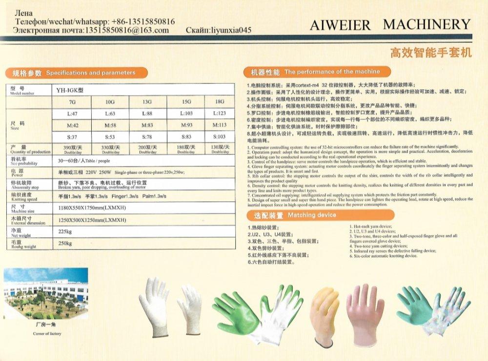 Buy Automatic servo glove machine