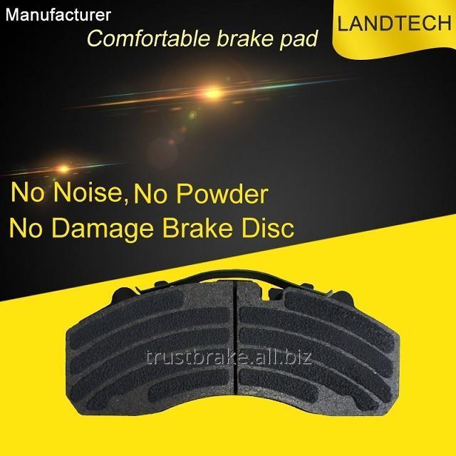 Buy Truck spare brake part Brake pad WVA 29087/29108/29105